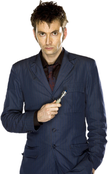Tenth Doctor Transparent by tardisplus