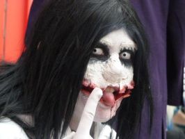 Jeff the Killer Cosplay - Dat Mouth by Shadow-Industries