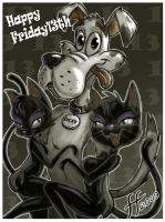 Happy Friday 13th again by 14-bis