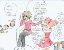 Mall Santa: TWEWY style by Mikakitty24217