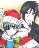 Santa Ciel is Coming to Town by ARii-CHANx3