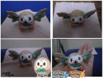 Rowlet Custom Figure by Sculptshifter