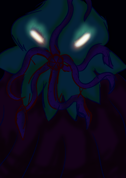 Enzoath, the Devourer of Night by OrionsDagger