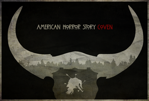 Divination - American Horror Story: Coven Poster by edwardjmoran