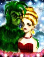 Mr. Grinch and Martha May by kilderok