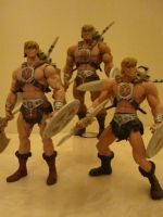 HE-MAN TIMES THREE by efrece