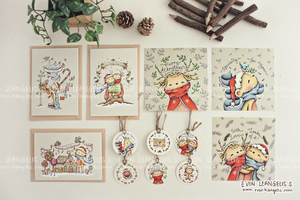 The Christmas Stationaries Collection 2013 by evonleangelis
