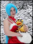 One Piece X-mas Vivi Cosplay by Jibril-Cosplay
