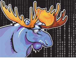 Mooses are Programmers TOO by bikle