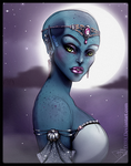 Blue Queen by DJ88