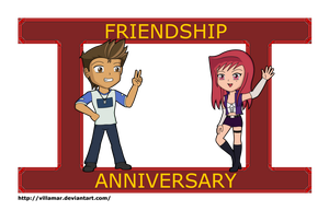 Gisy Friendship Anniversary 2 by villamar