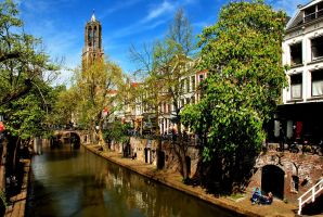 Spring sunshine at Utrecht by Esperimenti