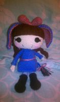 Lalaloopsy: Cosplay Eeyore by brightdarkness7