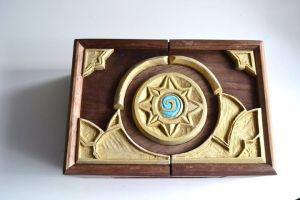 Hearthstone box by T00thie