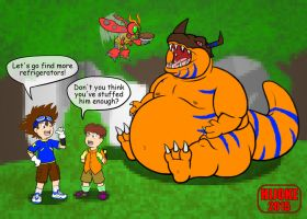 ReDraw Digimon by DragonDoctor