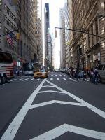 Times Square Street by Lily-Gangsta
