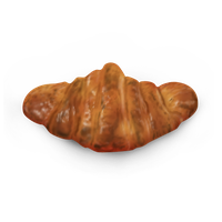 Croissant Icon by yamshing