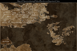 Political Map of Hyvernia by Crusader1089