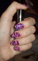 Cheshire cat stripes by jenna-daydreamer93