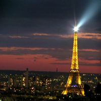 Shining Eiffel by Michies-Photographyy