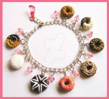 Donut Bracelet by cherryboop