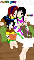 wander,mono and monder by rikuxrikku4ever
