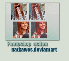 1. Photoshop action by Natkawes