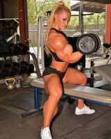 Lauranda Nall Super Biceps by Turbo99