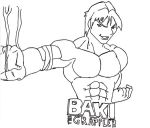 Baki does sonic fist by fighterxaos