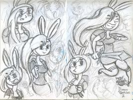 Fionna Sketches 2 by Jose-Miranda