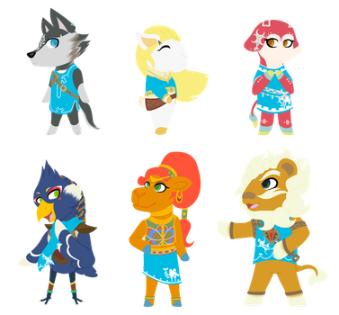 Animal Crossing - Breath of the Wild by FlashBrush