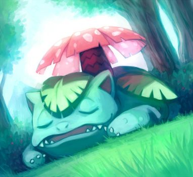 Venusaur by HamsterParade