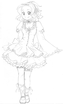 Levy Lolita - sketch by SweetJanie