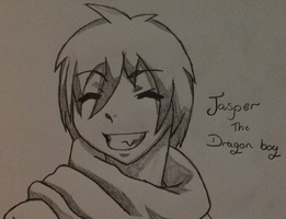 ~Jasper The Dragon Boy~ by ChibiChibiWoofWoof
