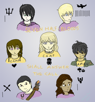 Heroes of Olympus: The Seven by Insaneular
