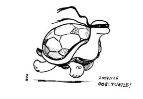 008 - Turtle by karrey