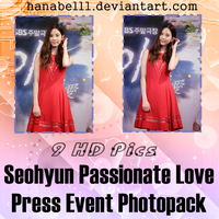 Photopack#5 Seohyun Passionate Love Press Event by HanaBell1