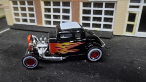 '32 Ford with Flames by hankypanky68