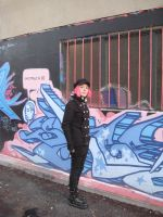 Graffiti Goth 01 by willconquers-stock