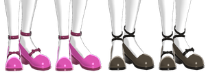 nakao shoe edits - set 2 (dl) by AkemiWhy