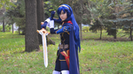 Now grab a sword... and FIGHT! - Lucina by GlamForUs