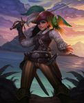 Pirate girl by Amanda-Kihlstrom