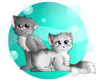 Two Sisters by Postal-Owl