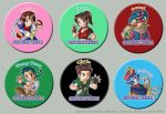 Capcom Team Pins Set 1 by chloebs