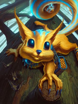 Ratatoskr Gold by Andantonius