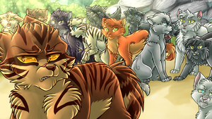 Tigerclaw's Exile by Klaracrystalpaws