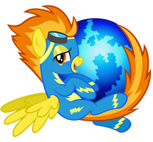 Spitfire Firefox Icon by tygerbug