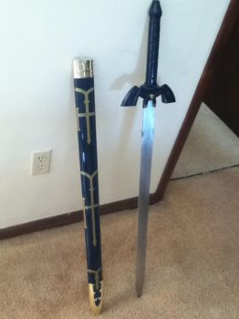 Master Sword Replica (looks a little cheap) by imagememorizer