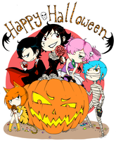 HAPPY HALLOWEEN by Kehmy