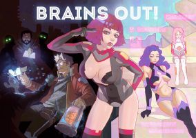 brains out! by Kuvshinov-Ilya